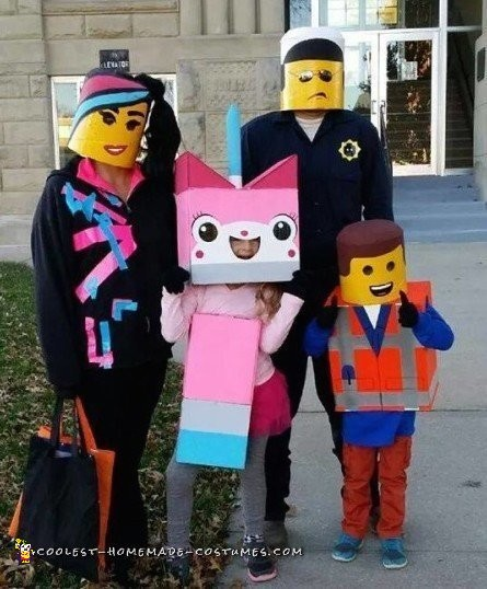 Lego Family Costumes