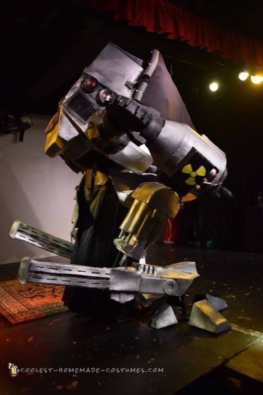 The Ultimate Robot Costume: Life Size ED-209 with Full Motion Legs!