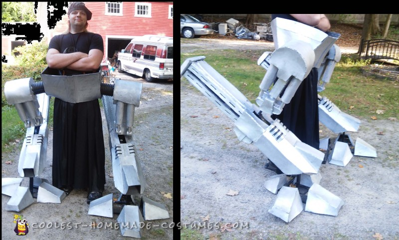 The Ultimate Robot Costume: Life Size ED-209 with Full Motion Legs! - 1