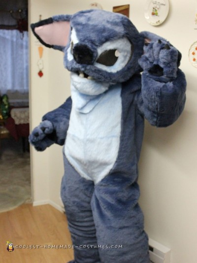 Stitching Up a Cool Stitch Costume