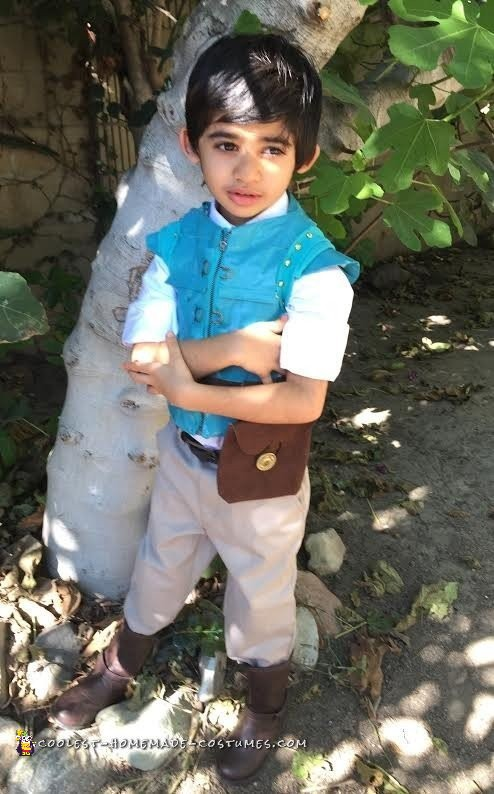 Little Flynn Rider Costume