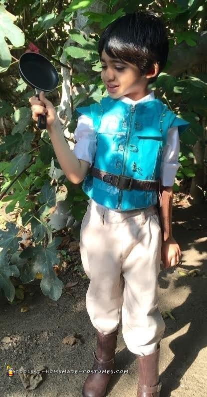 Little Flynn Rider Costume - 1