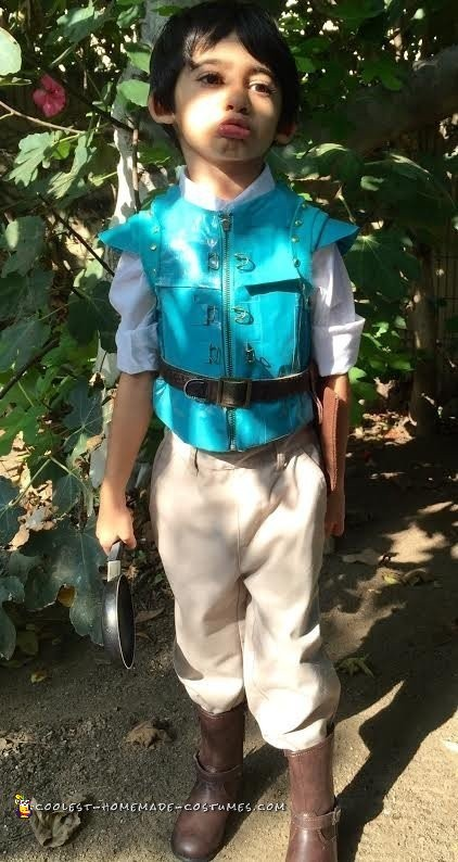 Little Flynn Rider Costume - 3