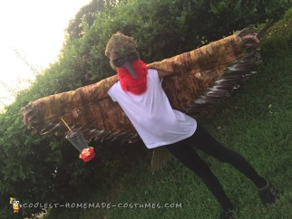 Cool Ruby Throated Hummingbird Costume