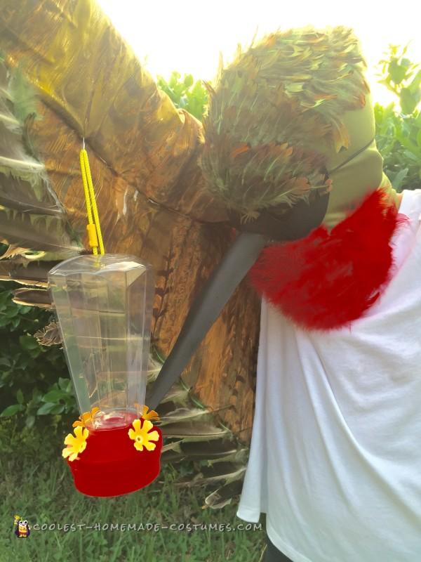 Cool Ruby Throated Hummingbird Costume - 1