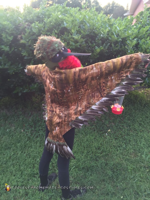Cool Ruby Throated Hummingbird Costume - 2