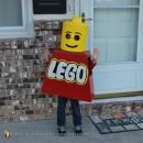 Little Lego Man Costume for Kids