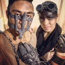 Mad Max and Imperator Furiosa with Bionic Arm Costume