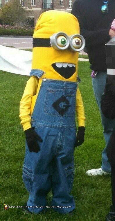 Malcolm as Bob the minion