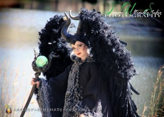 Extravagant Maleficent Costume
