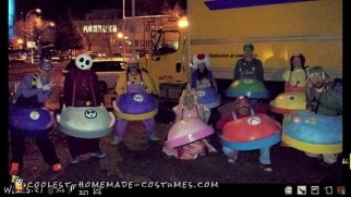 Mario Kart Group Costume