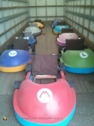 Mario Kart Group Costume