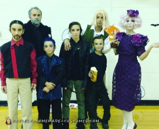 Hunger Games Family Costumes