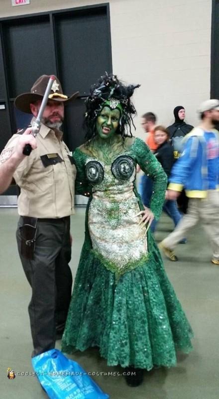 Cool DIY Medusa Costume