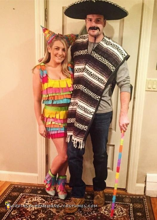 Mexican Pinata Couple Costume