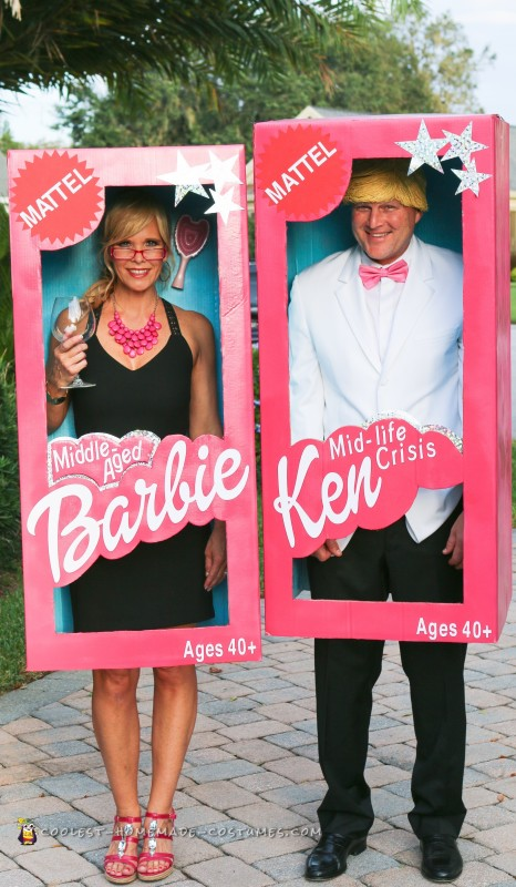 Middle-Aged Barbie and Mid-Life Crisis Ken