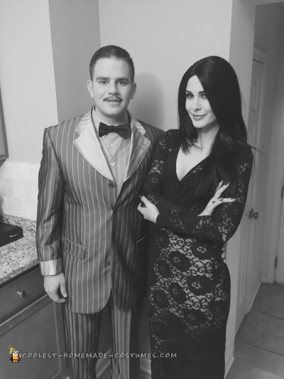 Morticia and Gomez Addams Couples Costume
