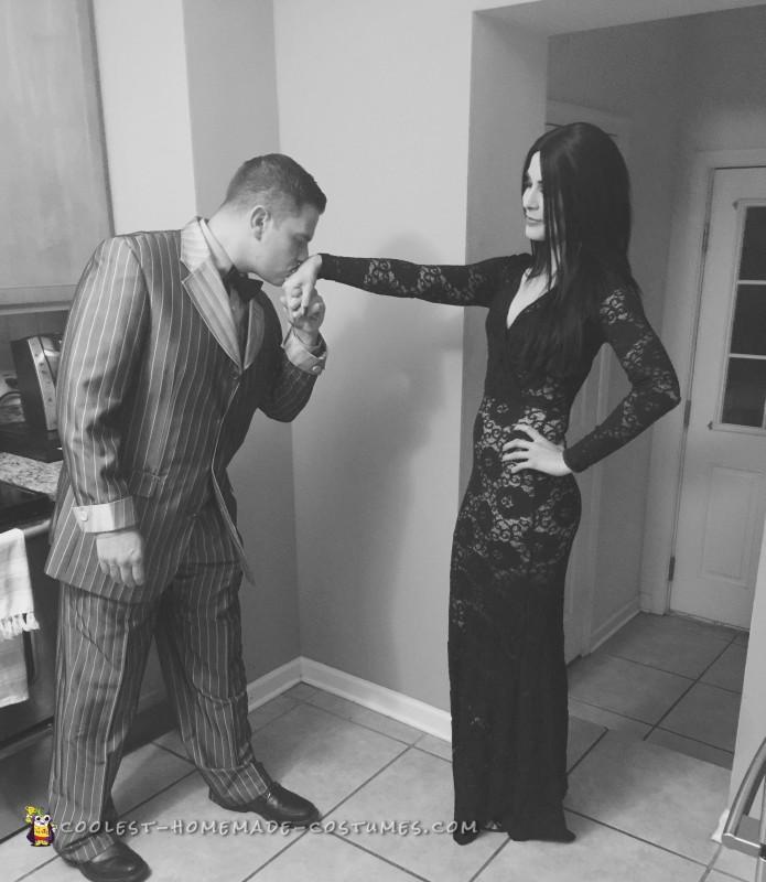 Morticia and Gomez Addams Couples Costume - 1