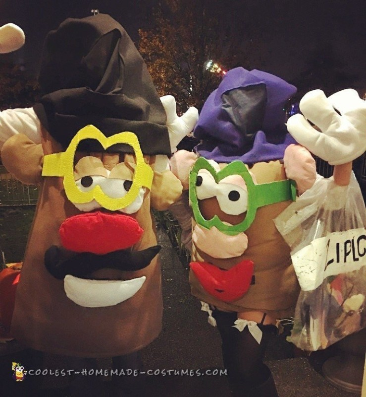 Mr. and Mrs. Potato Head Couple Costume - 1