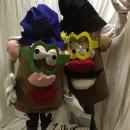 Mr. and Mrs. Potato Head Couple Costume