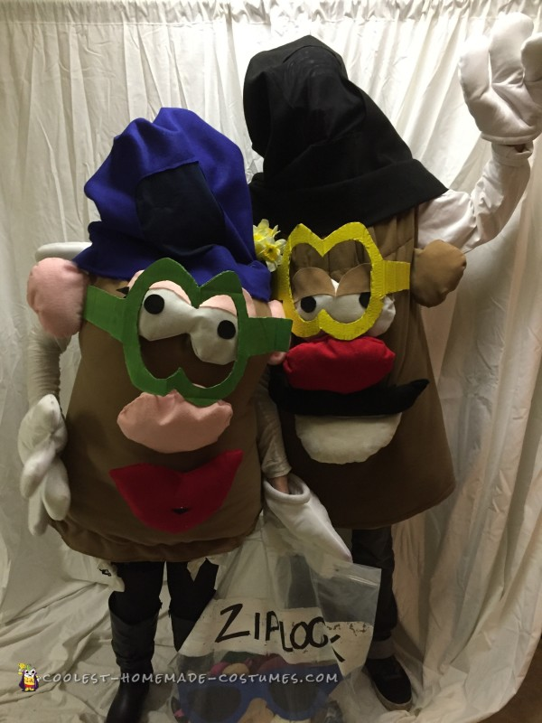 Mr. and Mrs. Potato Head Couple Costume