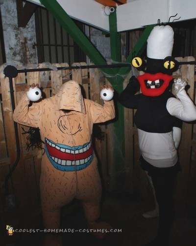 Oblina and Krumm Costumes from Ah! Real Monsters
