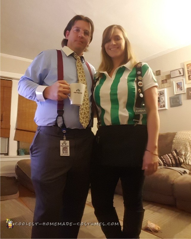 Bill and Johanna Office Space Movie Couple Costumes
