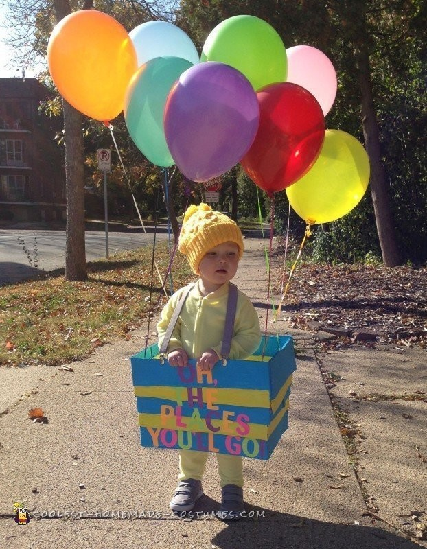 Oh, the Places You'll Go! Dr. Seuss Costume - 2