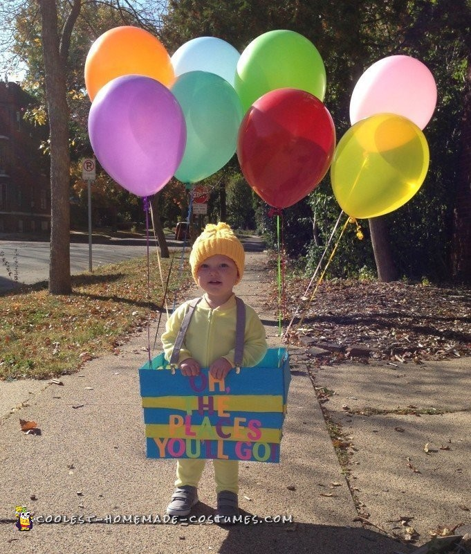 Oh, the Places You'll Go! Dr. Seuss Costume