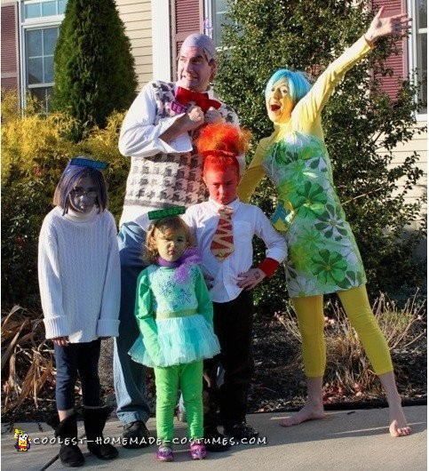 Our Inside Out Family Costumes