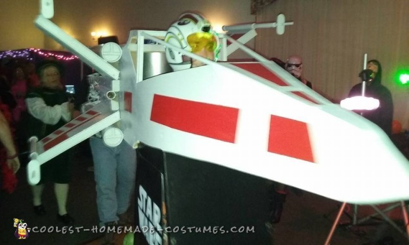 Out of this World Star Wars Red-5 X-Wing Fighter