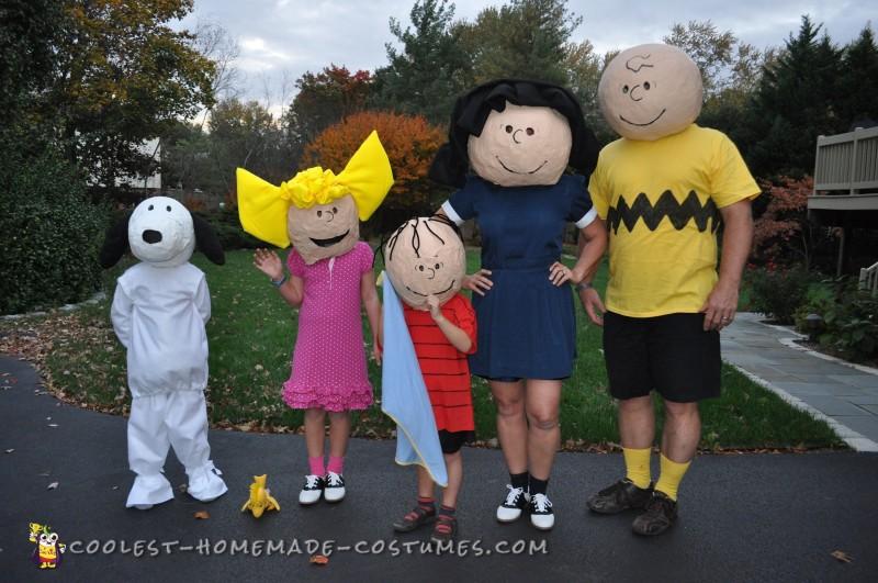 Peanuts Gang Costumes