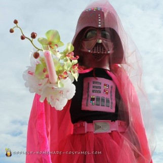 Cutest Ever Pink Darth Vader Costume