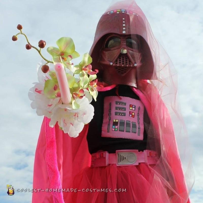 Cutest Ever Pink Darth Vader Costume