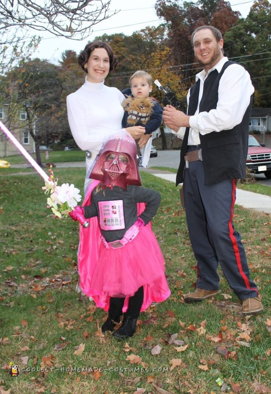 Cutest Ever Pink Darth Vader Costume - 2
