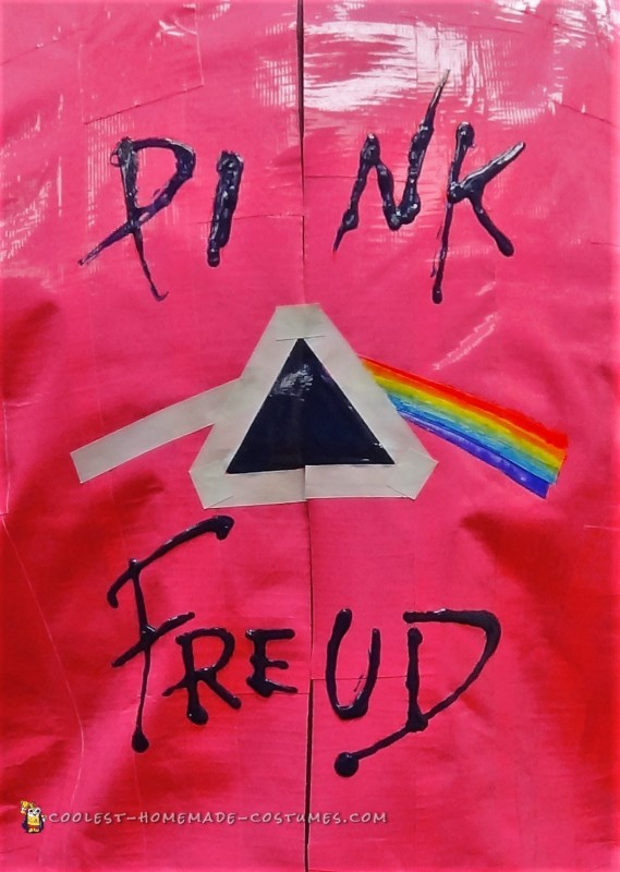Pink Freud – Mens Pun Costume - 3