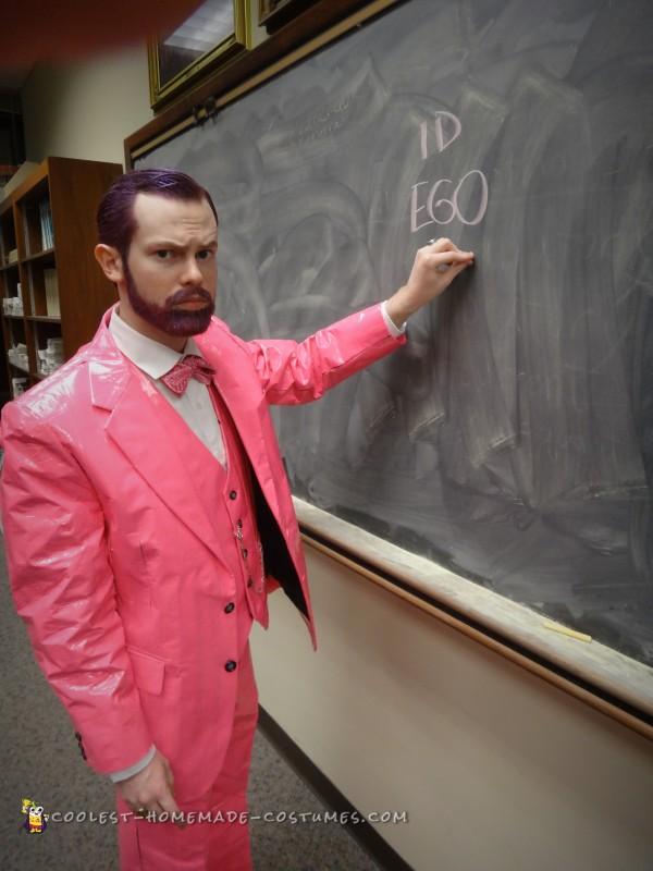 Pink Freud – Mens Pun Costume - 7