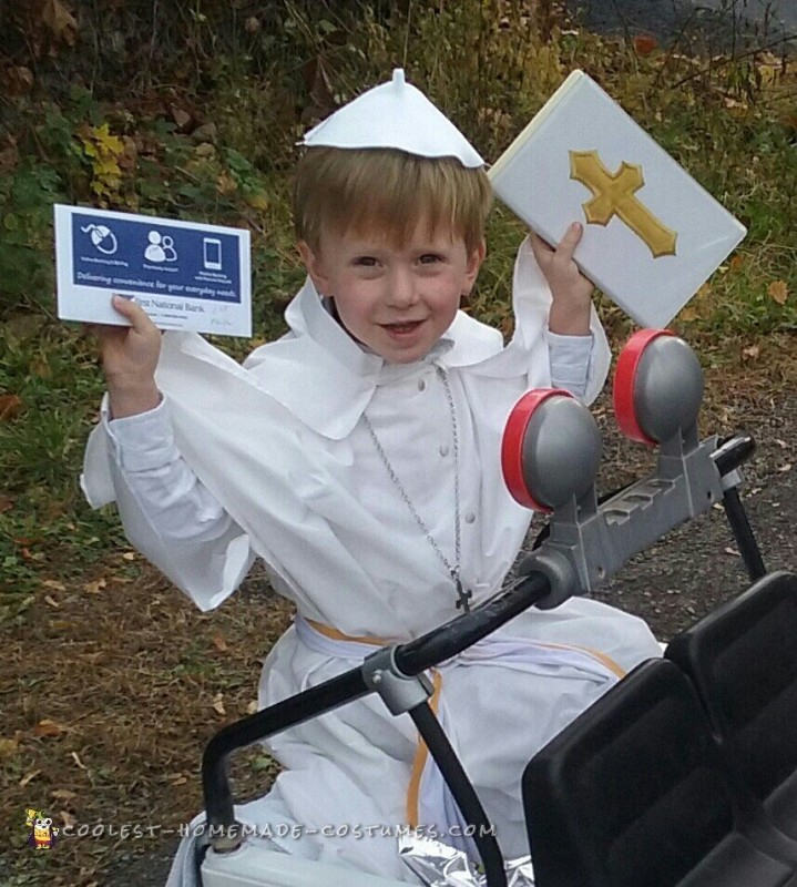 Amen for this Costume Idea - The Pope!