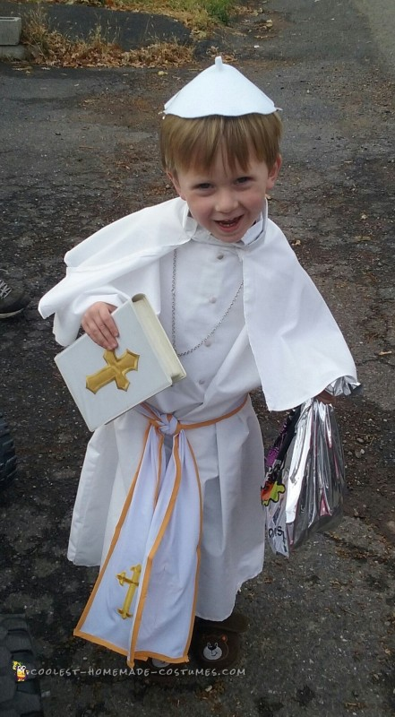 Amen for this Costume Idea – The Pope! - 2