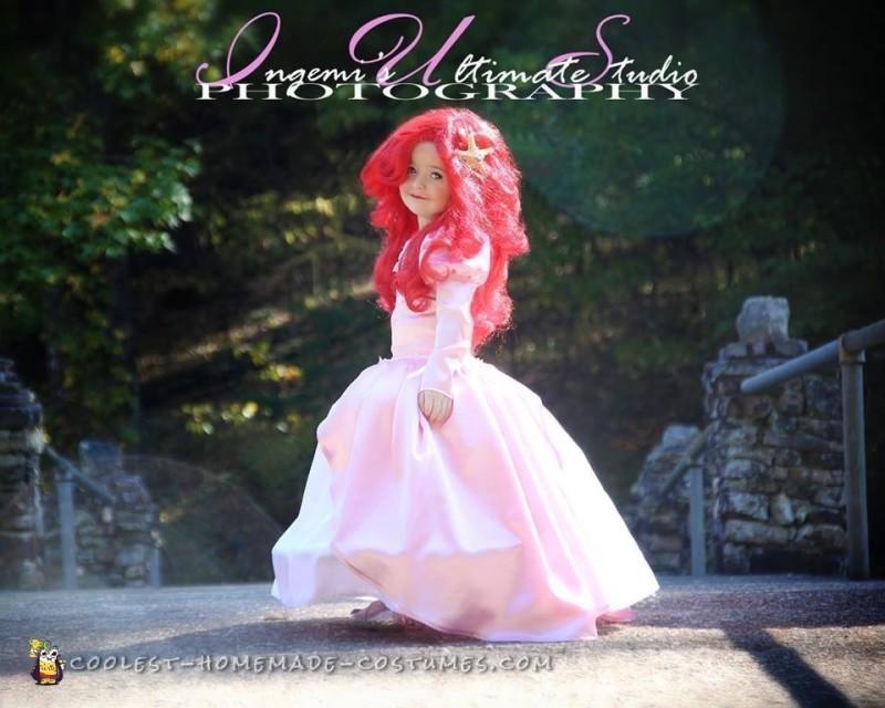 Beautiful Handmade Princess Ariel Costume