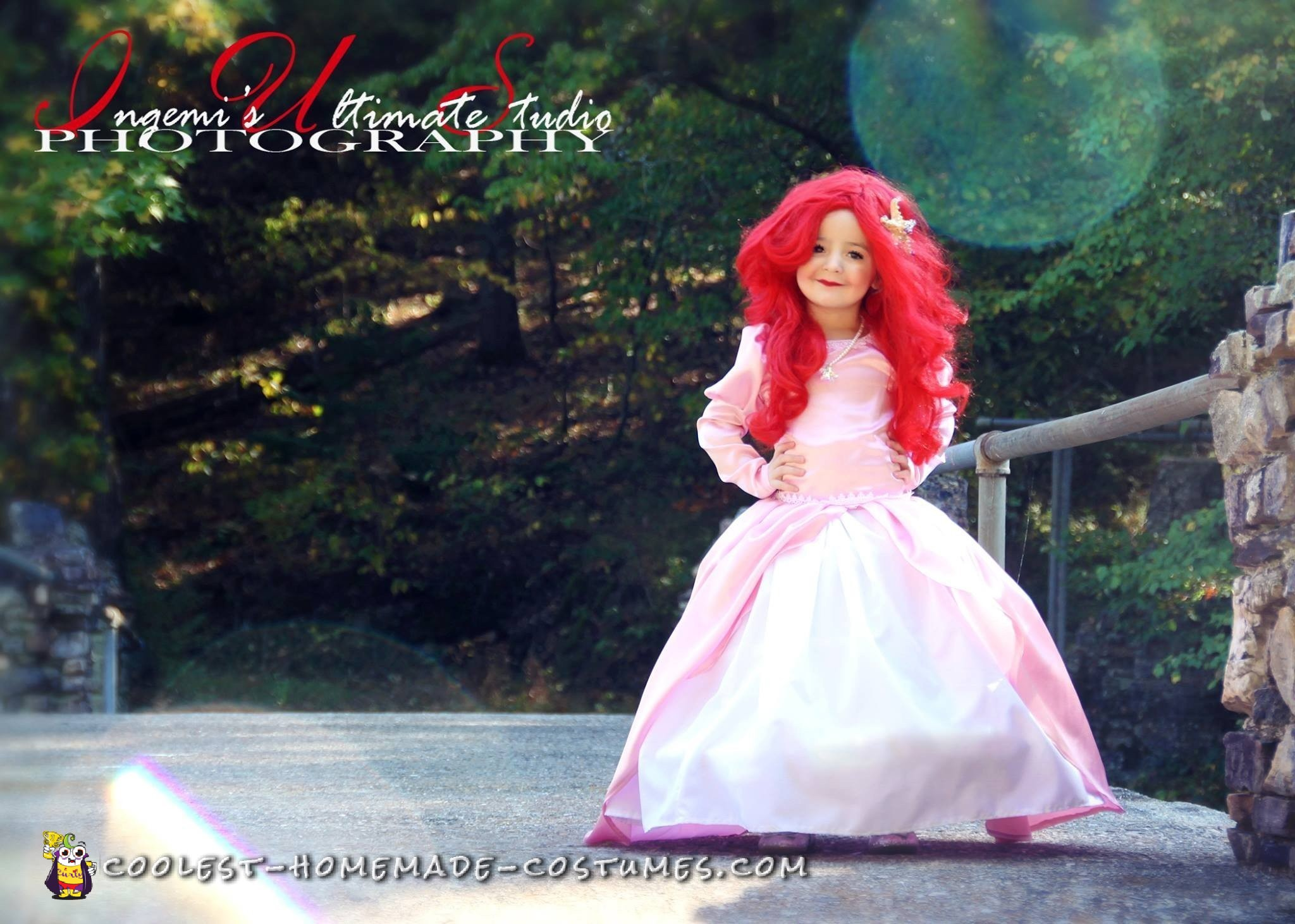 Beautiful Handmade Princess Ariel Costume