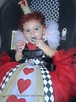 Queen of Hearts Baby Costume