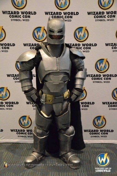 Quest for the Armored Bat Suit