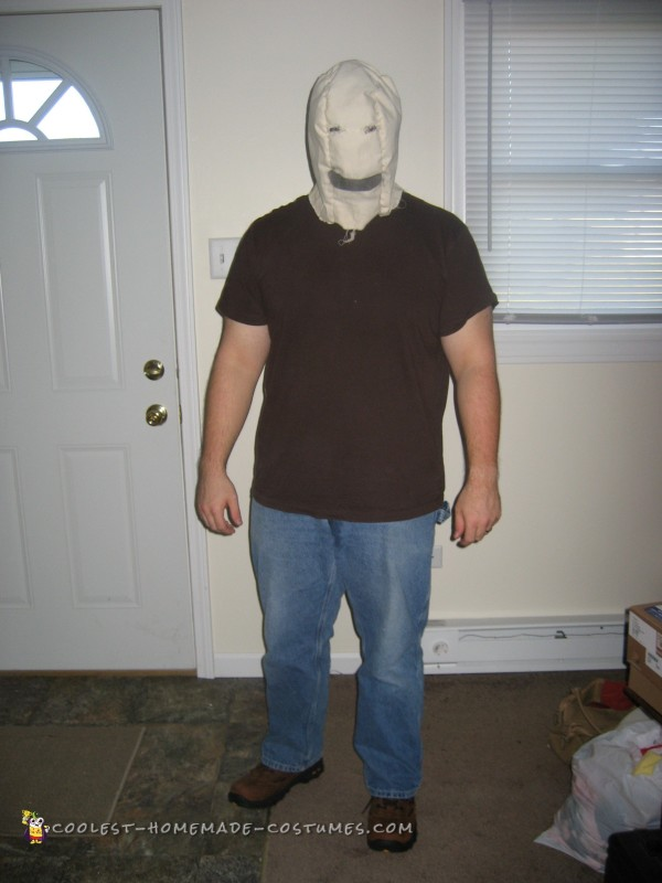 Quick and Cheap Scary Halloween Costume - 1