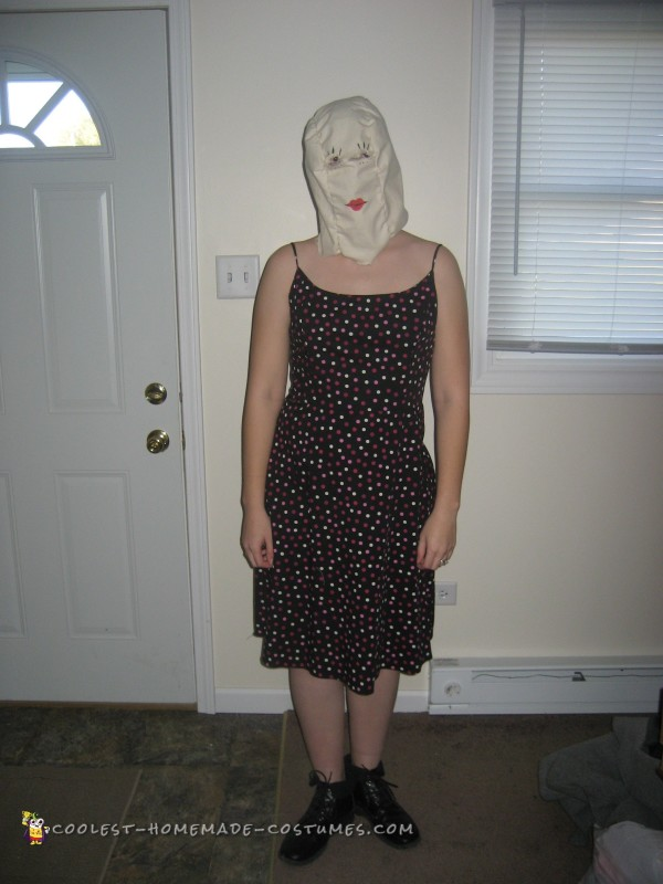 Quick and Cheap Scary Halloween Costume - 2