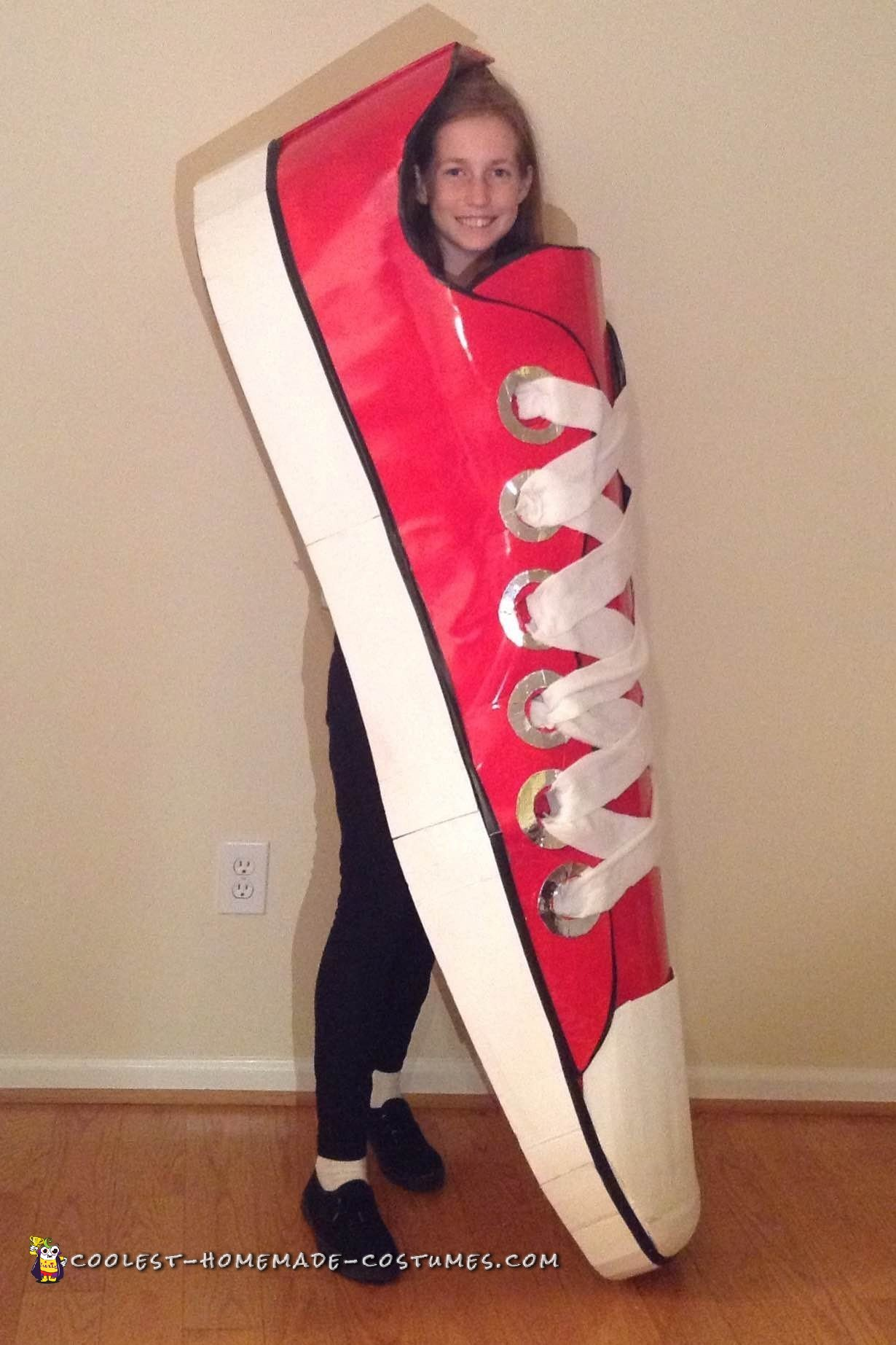 Cool Red Shoe Costume