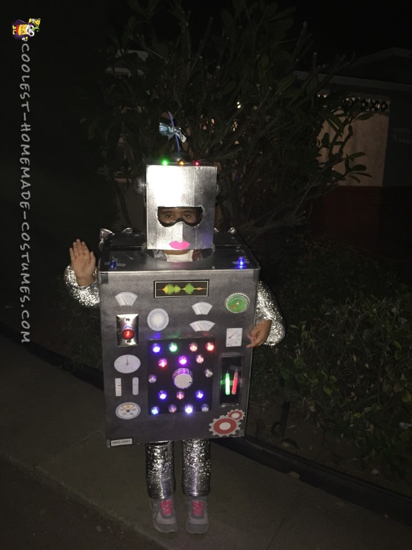 Riley The Robot Costume