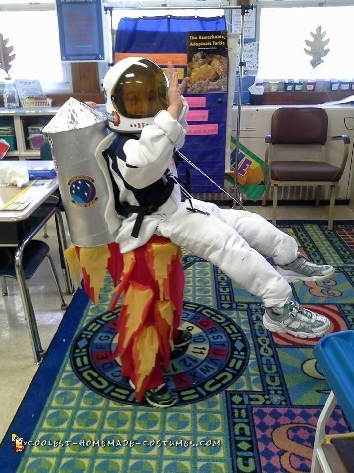 Rocket Man Illusion Costume