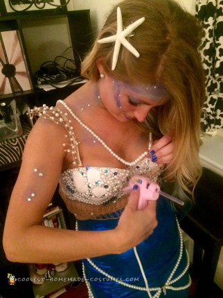 Royal Blue Mermaid Costume