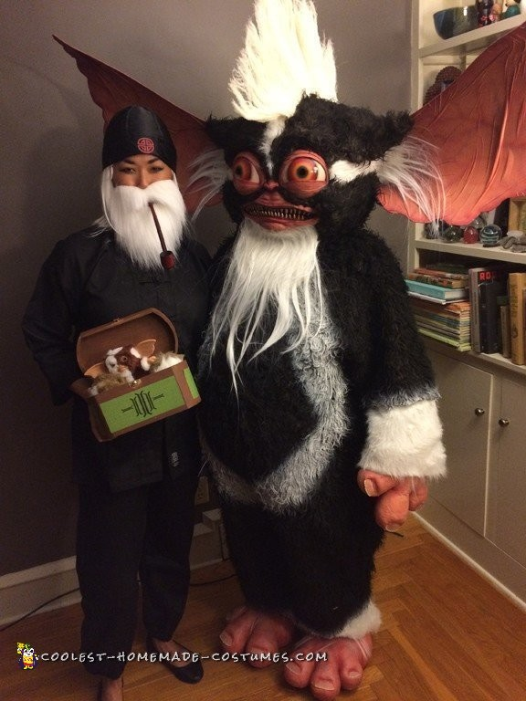 Scratch Built Gremlins 2 Mogwai Costume